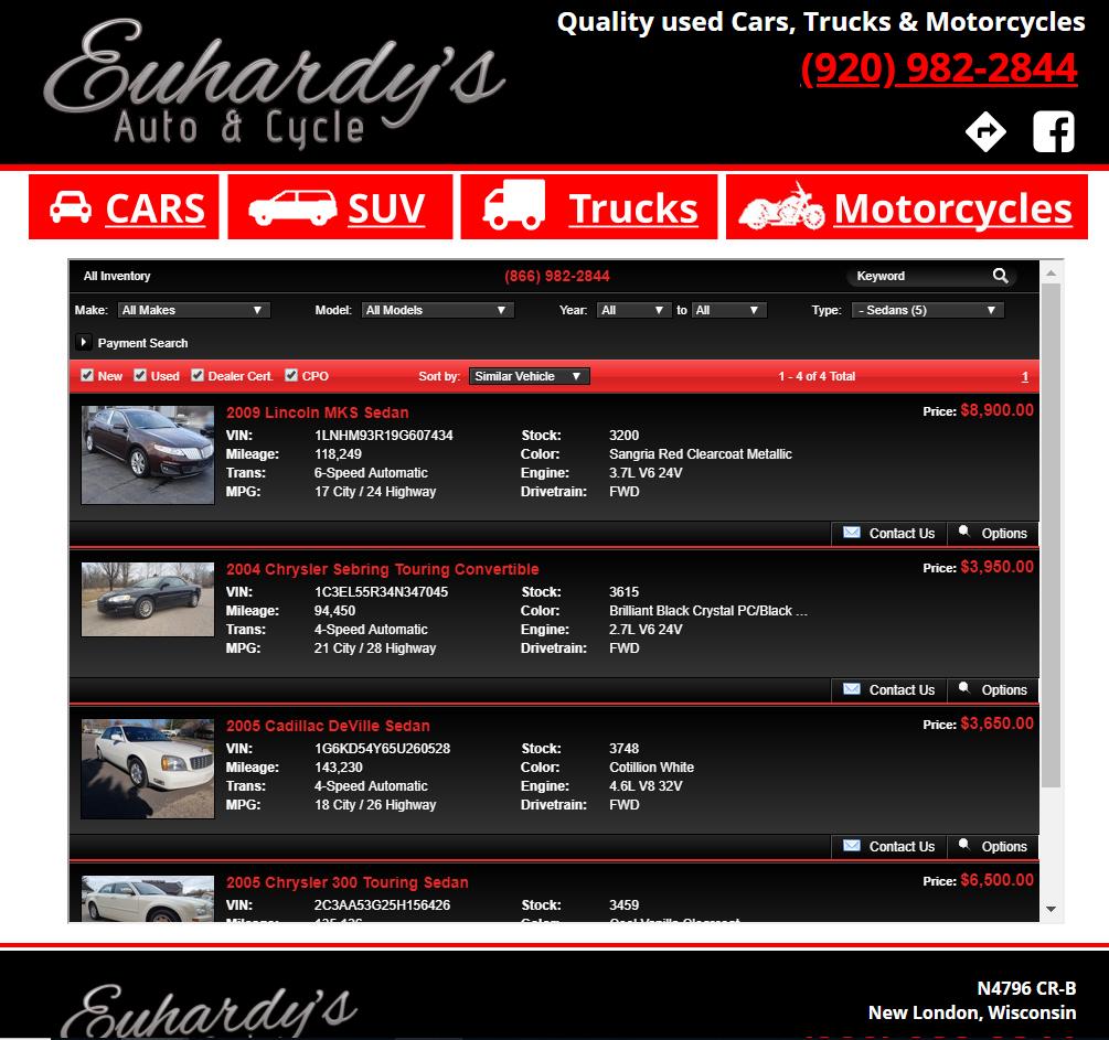 Euhardy Auto Sales
